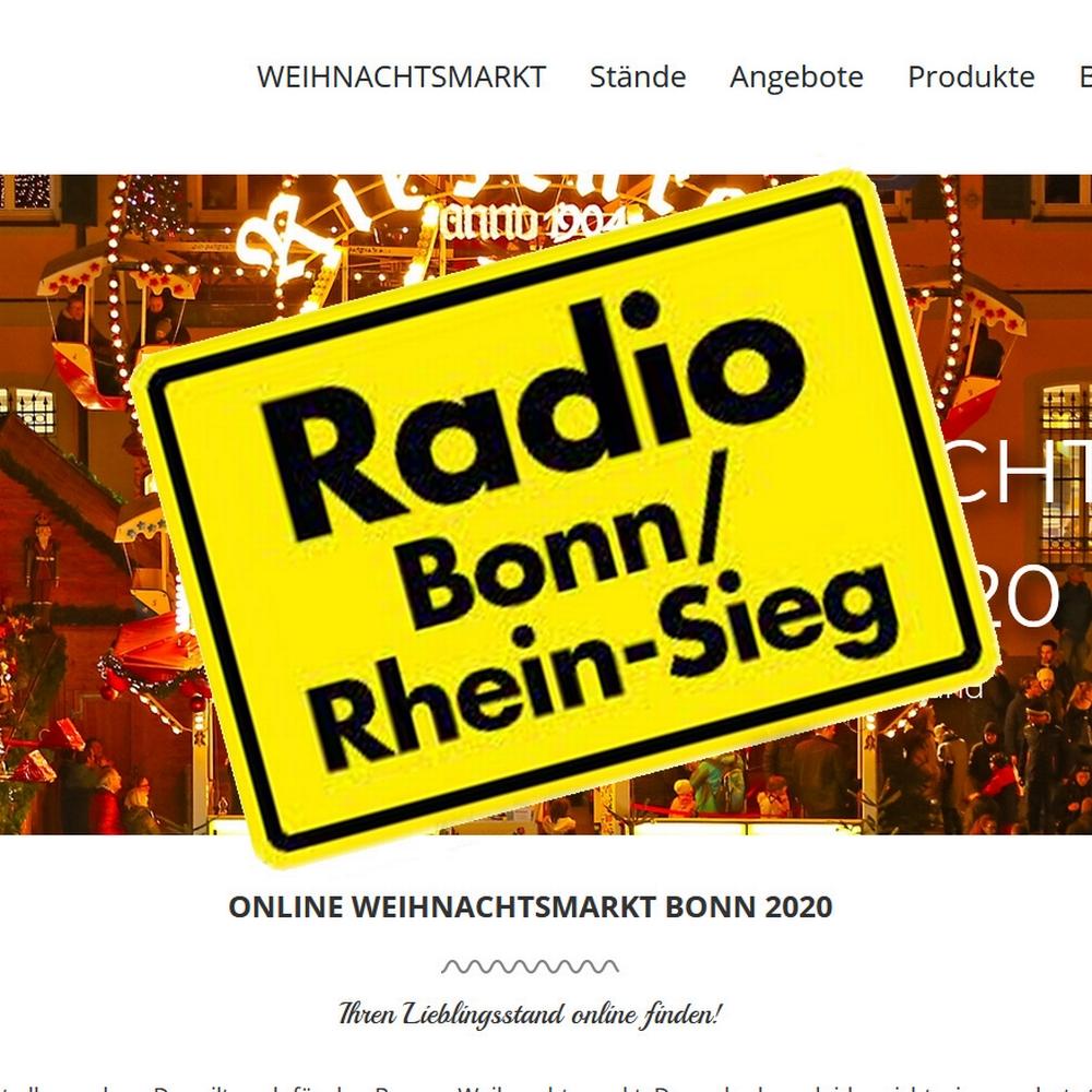 Der ONLINE WEIHNACHTSMARKT in Radio Bonn/Rhein-Sieg