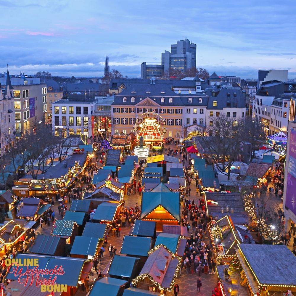 Blicke auf den Bonner Weihnachtsmarkt