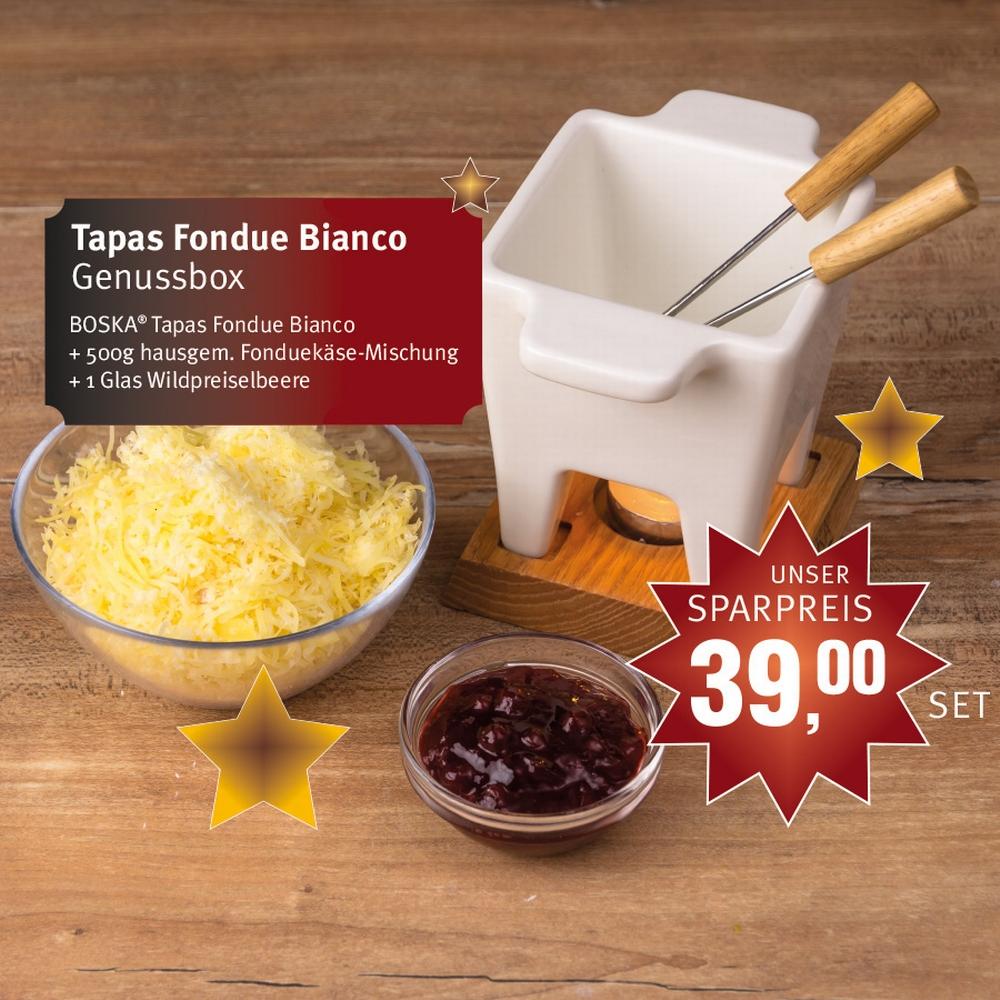 Fondue und Raclette-Genussboxen