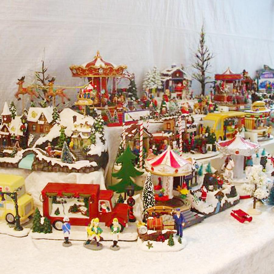 Showroom während der Weihnachtszeit