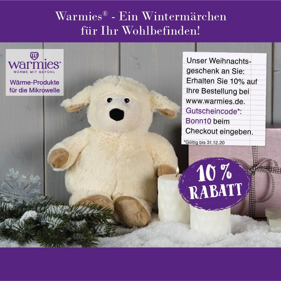 Das dritte Türchen: Unser Weihnachtsgeschenk an alle Warmies-Fans!
