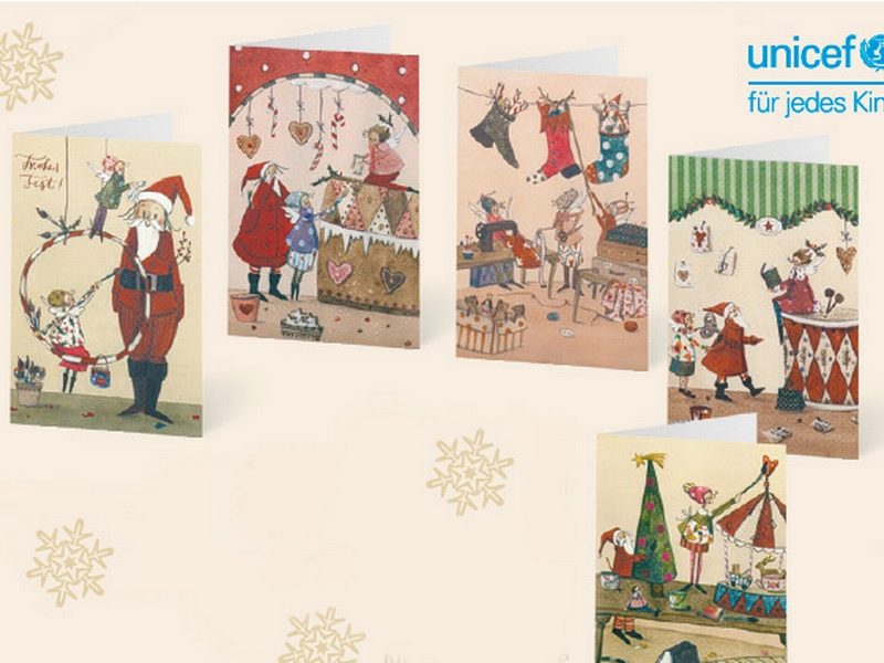 Unicef Grußkarten