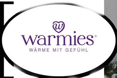 Logo von Warmies - Wärmestofftiere für die Mikrowelle