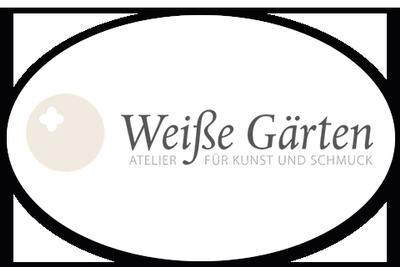 Logo von Weiße Gärten - Atelier für Kunst und Schmuck
